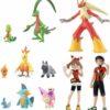 Japansk Blaziken Figur pakke